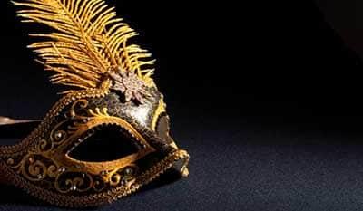 dicas de máscaras de carnaval