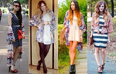 modelos de kimonos