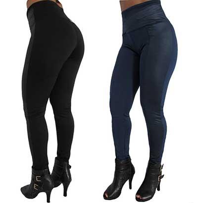 modelos de calças de legging