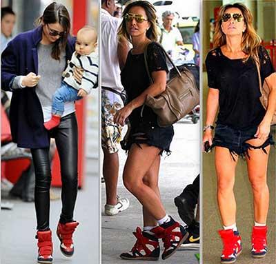fotos de sneakers femininos