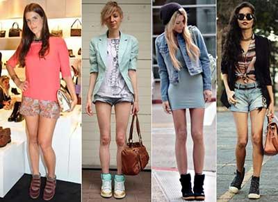 looks com sneakers femininos
