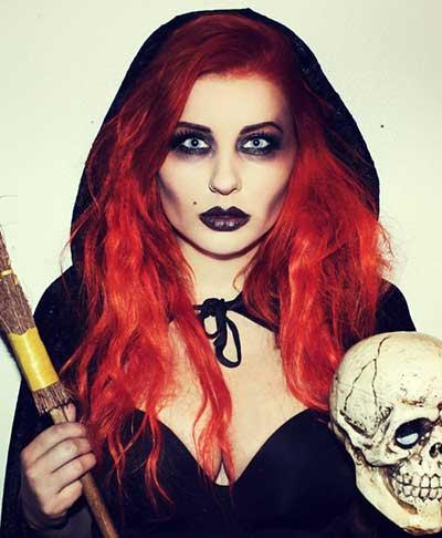 passo a passo de maquiagens de bruxas