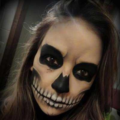 fotos de maquiagens de bruxas