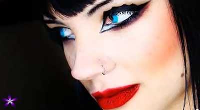 imagens de maquiagem de bruxa