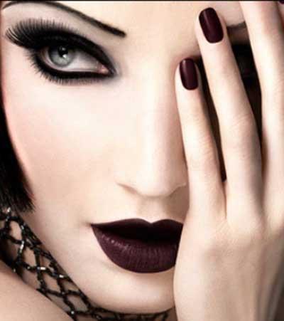 fotos de maquiagem de bruxa