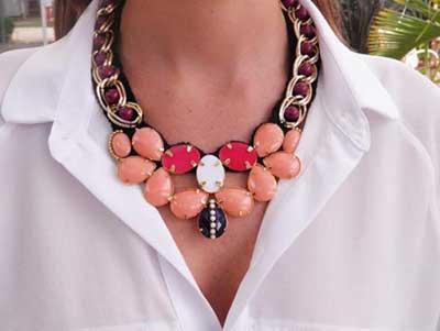 dicas de colares femininos