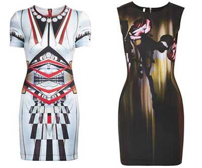 dicas de vestidos de neoprene