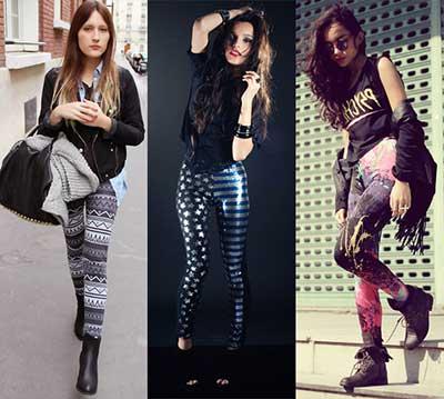 modelos de calças legging
