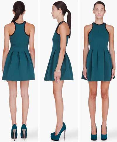 modelo de vestido