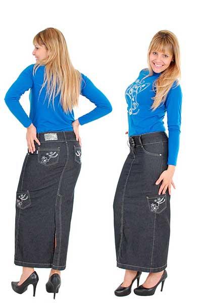 dicas de saias jeans