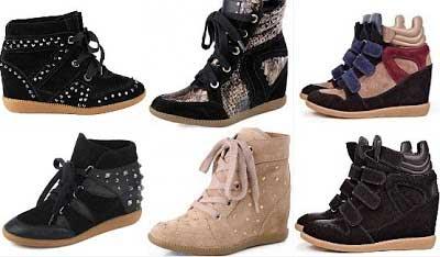 imagens de sneakers femininos