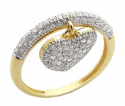 imagens de anéis com brilhantes