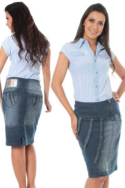 Gordinha de jeans do butt g - 2 3