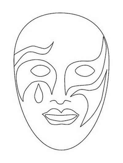 fotos de moldes de máscaras