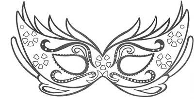 dicas de moldes de máscaras