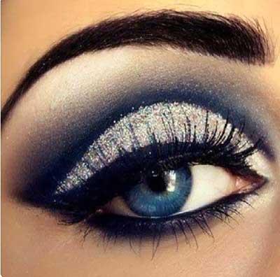 fotos de olho azul