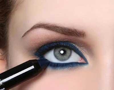 foto de olho azul