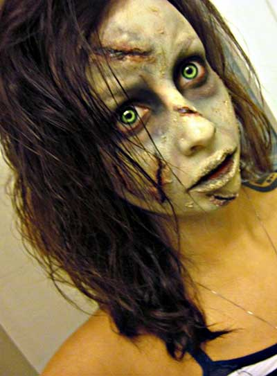 fotos de maquiagens de zumbis
