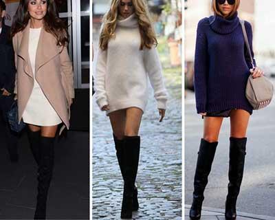 botas femininas da moda