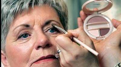 maquiagem para senhora