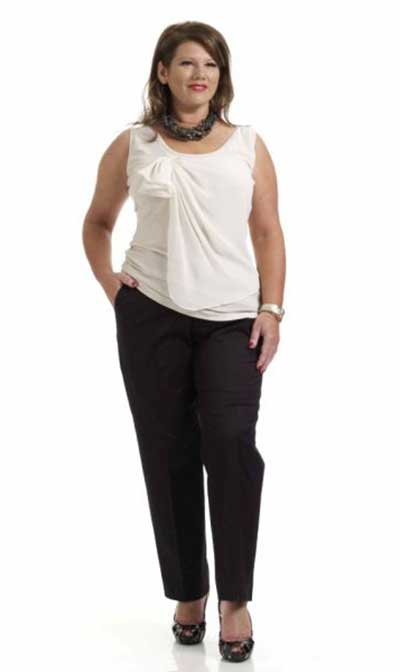 modelos de calças para gordinhas