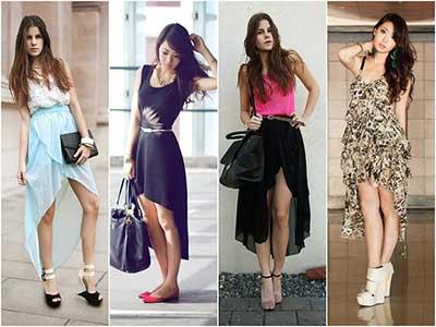 modelos de saias mullets