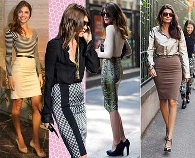 moda de saias