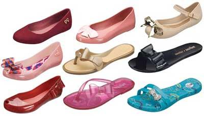 imagens de sandálias melissa
