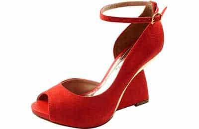 modelo vermelho