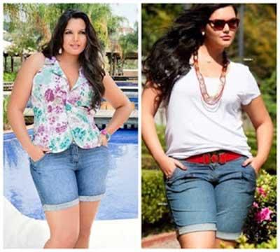 fotos de roupas plus size