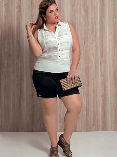 shorts da moda feminina