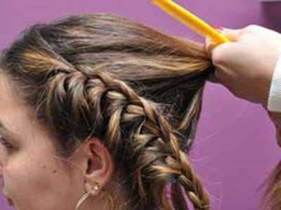Imagens de tranças para cabelos curtos