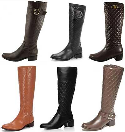 seleção de botas