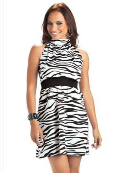 estampa de zebra
