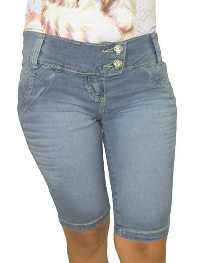 bermudas jeans da moda