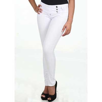 calças femininas brancas