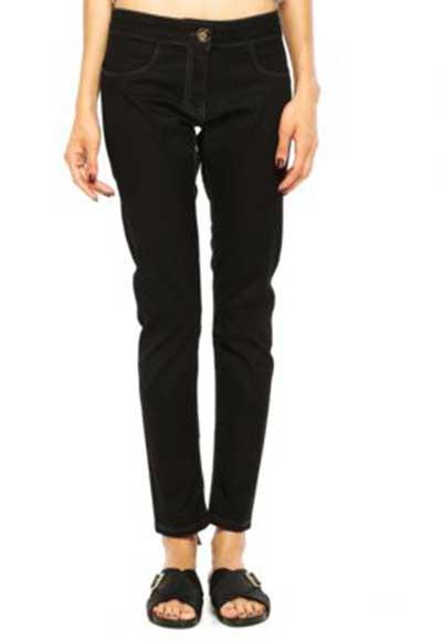 modelo de calça jeans preta