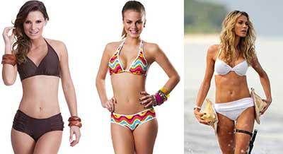 moda feminina para piscinas