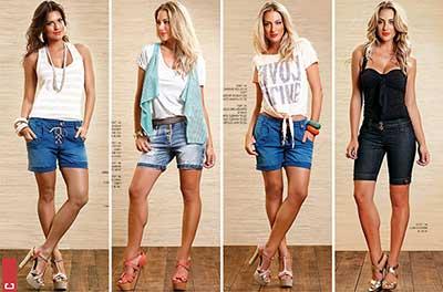 Modelos de bermudas jeans