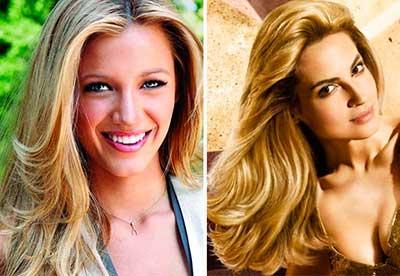 fotos de cabelos loiros femininos