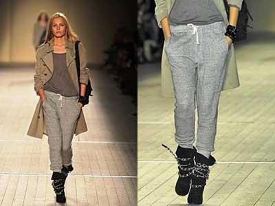 modelos de calças de moletom