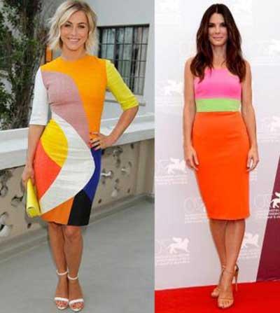 cores de roupas da moda