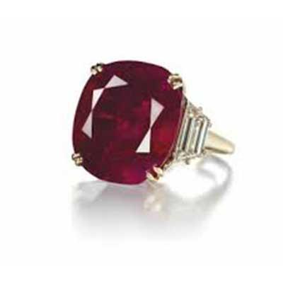 anel vermelho