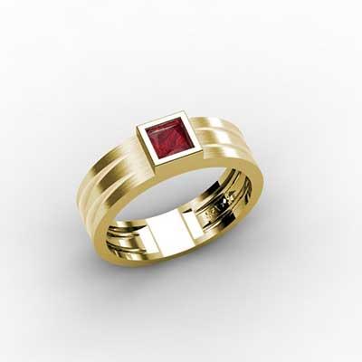foto de anel vermelho