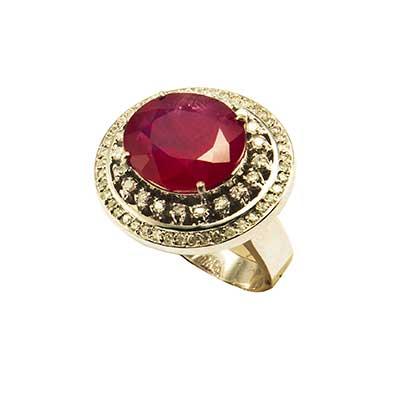 imagem de anel vermelho