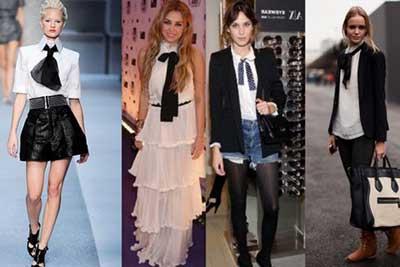 imagens de gravatas femininas