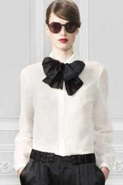 modelos de gravatas femininas