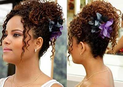 fotos de penteados para cabelo crespo