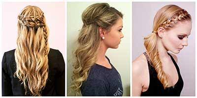 Imagens de penteados para festa de 15 anos