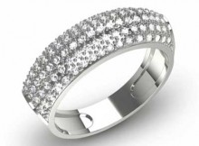 Anel de Diamantes
